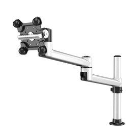Apple Monitor Mount with 7-in-1 Base and Dual Swivel Arm