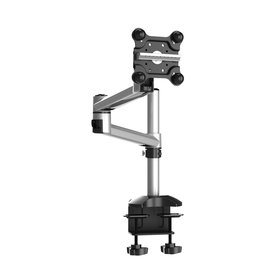 Single Apple Monitor Mount, Dual Adjustable Arm