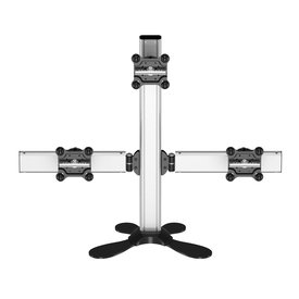 Triple Treat Freestanding Multi-Apple Monitor Mount w/Tilt and Swivel
