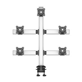 Sky High Extra Long Desk Monitor Mount for Five-Monitor