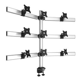 Cloud Nine Multi-Screen Desktop Monitor Mount with 2-in-1 Base