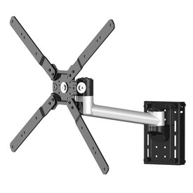 "32"" to 50"" Articulating Ergonomic TV Slatwall Mount, Single Arm"