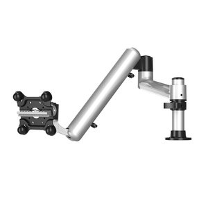 Apple Monitor with 7-in-1 Base and Spring Arm Pole Mount