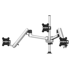 Triple Apple Monitor Mount With 7-in1 Base