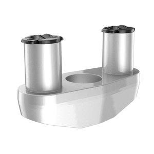 Dual Contact Stand, Silver Color