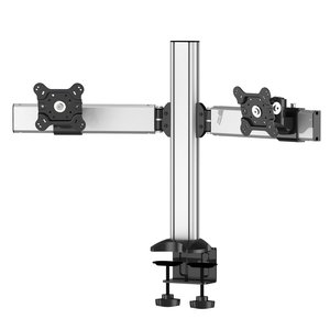 Dual Monitor Desk Mount Side by Side & Low Profile