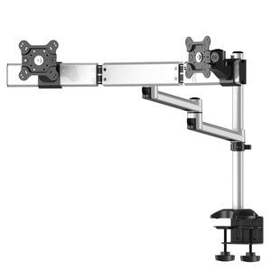 Dual Monitor Desk Mount w/ Dual Swivel Arms