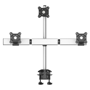 Triple Monitor Desk Mount - Low Profile & Triangle