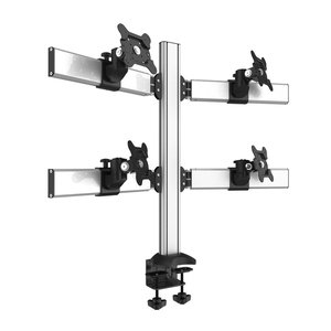 Tetra Technix Desktop Monitor Mount for Four Screens