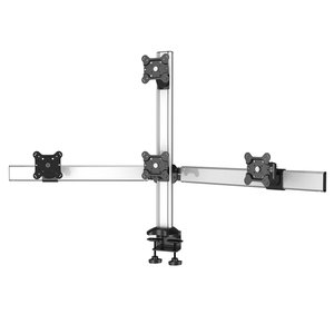 Screen Quartet Desktop Monitor Mount for Four Monitors