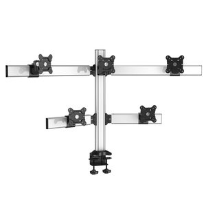 PyraMount Five Monitor Desktop Monitor Mount