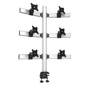 Sixfold Pro Six Monitor Three Rows Desktop Mount