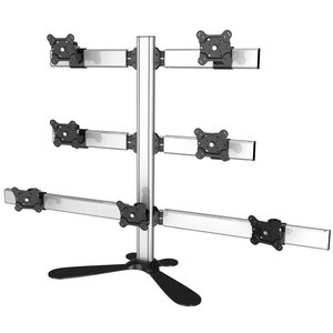 Super Seven Multi-Screen Freestanding Desktop Monitor Mount