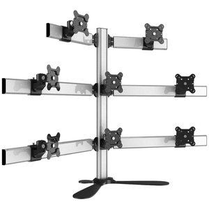 Great Eight Multi-Screen Freestanding Desktop Monitor Mount