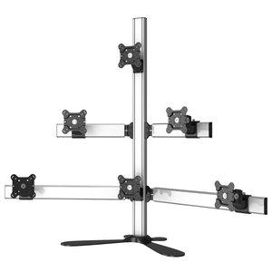 Sixer Supreme Six Monitor Freestanding Desktop Mount
