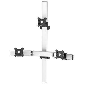 Peak Pro Triple Monitor Wall Mount w/Extension
