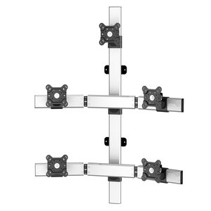 Marvel Mount Flat Panel Five Monitor Wall Mount w/Extension