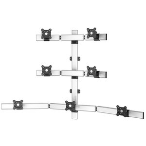 Superbly Seven Adjustable Flat Panel Wall Monitor Mount