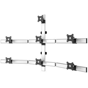 Superbly Seven Expansive Flat Panel Monitor Wall Mount